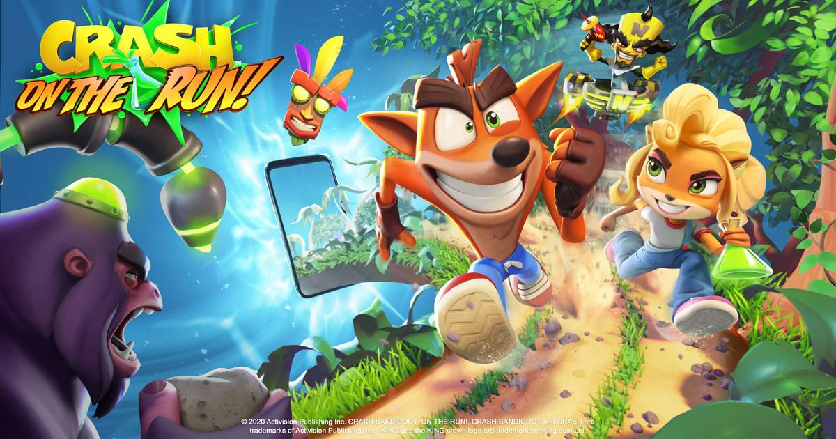 Anunciado Crash Bandicoot: On the Run!