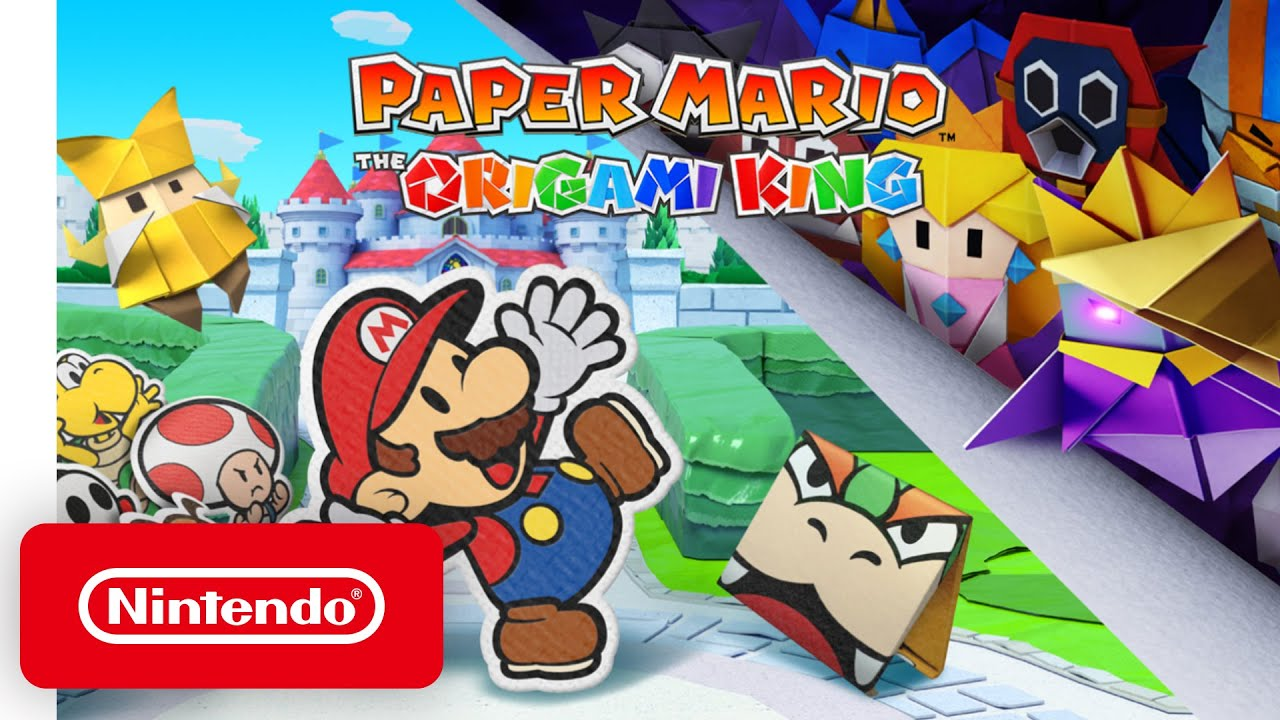Ya está disponible Paper Mario: The Origami King