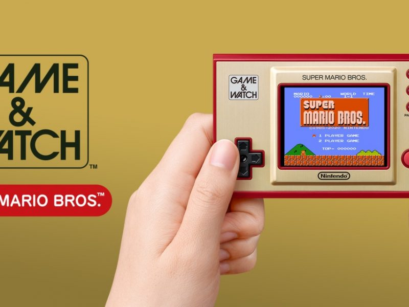 Nintendo anuncia una consola Game & Watch Super Mario Bros