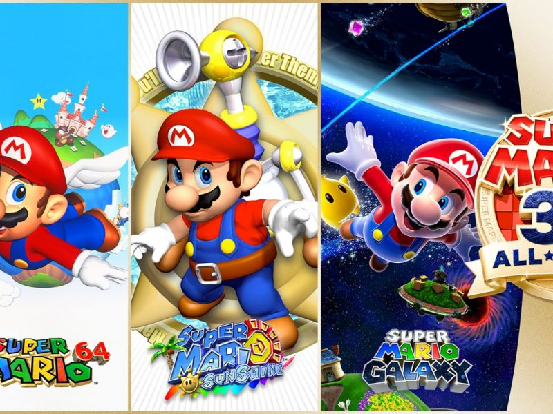 Anunciado Super Mario 3D All-Stars para Nintendo Switch